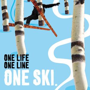ONE LIFE-ONE LINE-ONE SKI