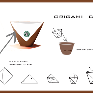origami paper cup
