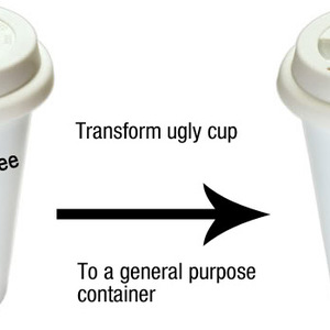 Ugly cupling - Coffe cup skin