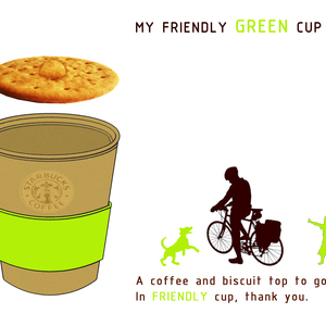 MY FRIENDLY GREEN CUP