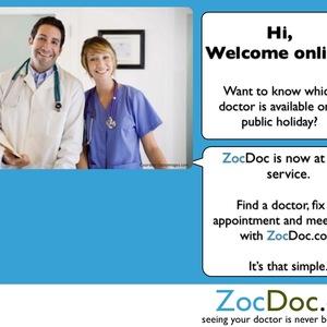 ZocDoc @ your Service