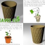 Leaves Cup