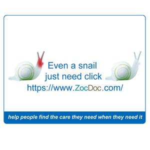 jovoto / 3 Klicks can help you / Change Healthcare / ZocDoc