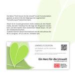 Fünf Herzen für die Umwelt