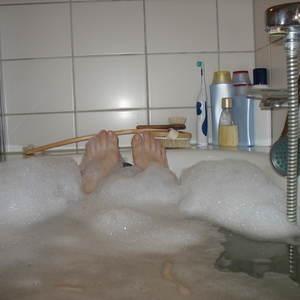 story spark-Die Muse in der Badewanne-Kurzgeschichte