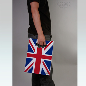 paper bag design for Olympic Games London 2012