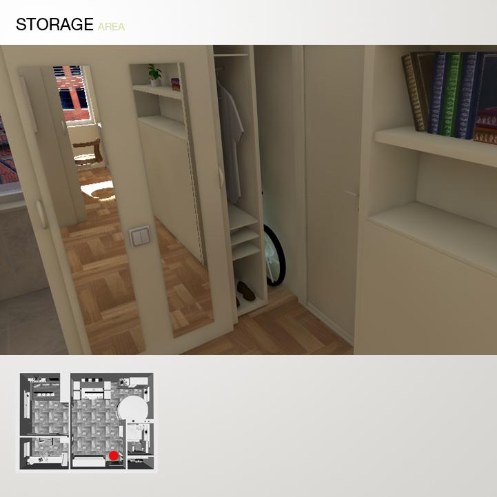 A 13 storage bigger