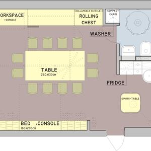 functional apartament