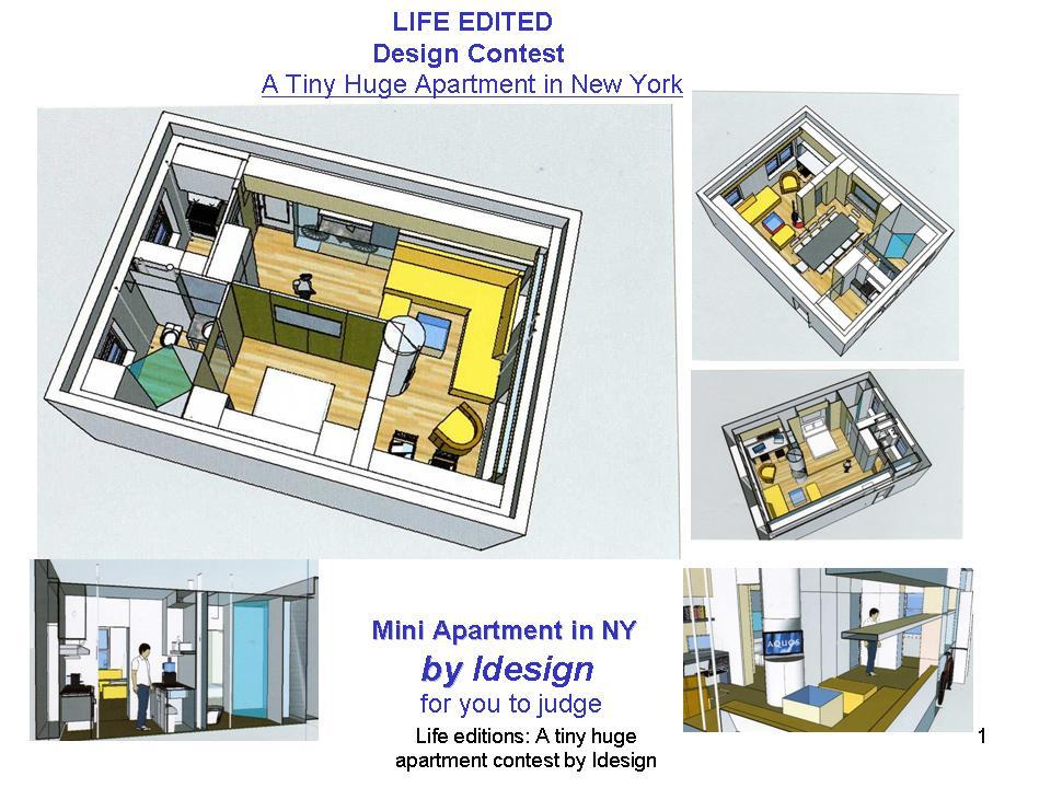 Apartment Design Contest jovoto / mini apartment in n.y. / life edited / graham hill and mutopo