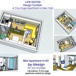 Mini Apartment in N.Y.