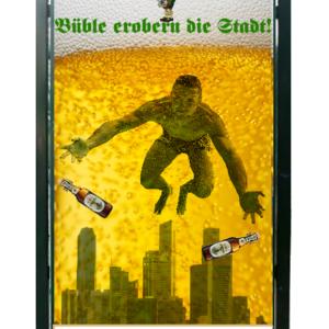 Büble invades the city!