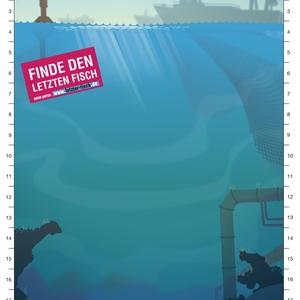 Suchbild - Finde den letzten Fisch