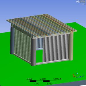 """Tubular"" Concrete House"
