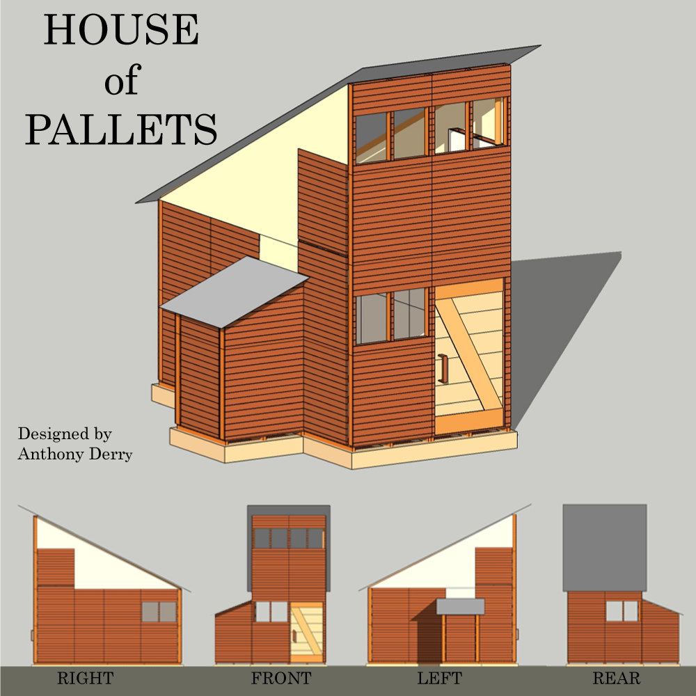 Pallet Home Jovoto House Of Pallets The 300 House Challenge 300 House