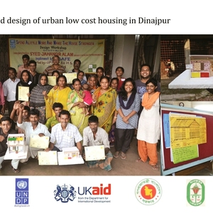 Improved design of urban low cost housing in Dinajpur,Bangladesh