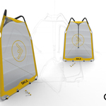 Portable Pitchback Premier