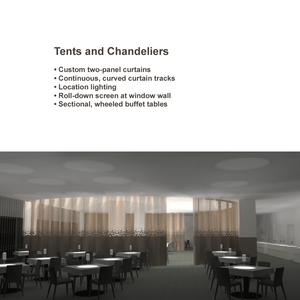 Tents and Chandeliers