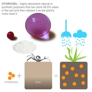 Using hydrogels