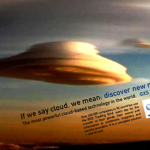 "If we say cloud, we mean :  the world biggest ""of course"""
