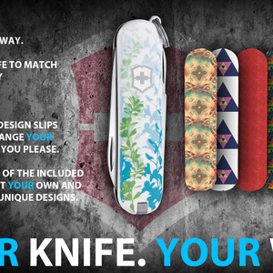 Your Knife. Your Way.