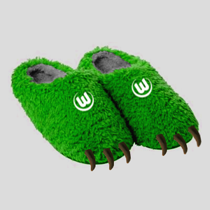 wolfs slippers
