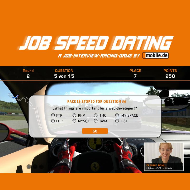 speed dating gmbh