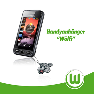 "Handyanhänger ""Wölfi"""