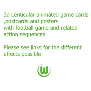 3d Lenticular animated  posters, cards & postcards or accessories