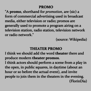 Theater Promo