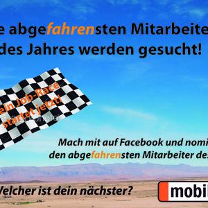 mobile.de sucht die abgefahrensten Mitarbeiter des Jahres