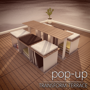 pop-up transform terrace - update