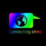 connecting + cities+ diferents cultures (= colors)