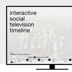 interactive social television timeline