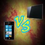 PHONE vs TV
