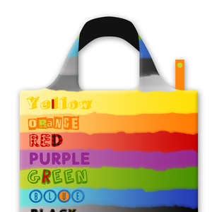 MULTI COLORED SHOPPING BAG
