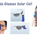 New! Solar charging accessory for Google glasses, wear them and maintain your glasses fully charged.