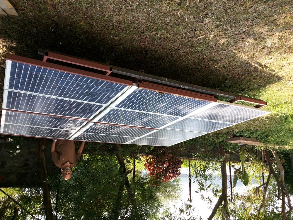 1200 watt solar array on wheels bigger