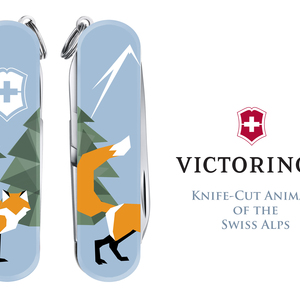 Knife-Cut Animals of the Swiss Alps