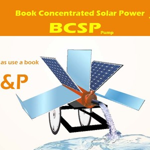 Book concentrated solar power technology (BCSP)