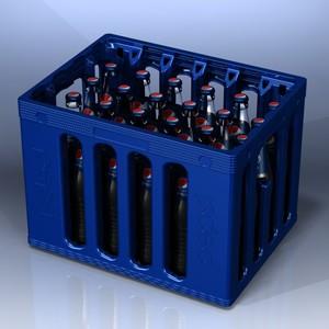 Pepsi Cola bottle crate – 24 bottles