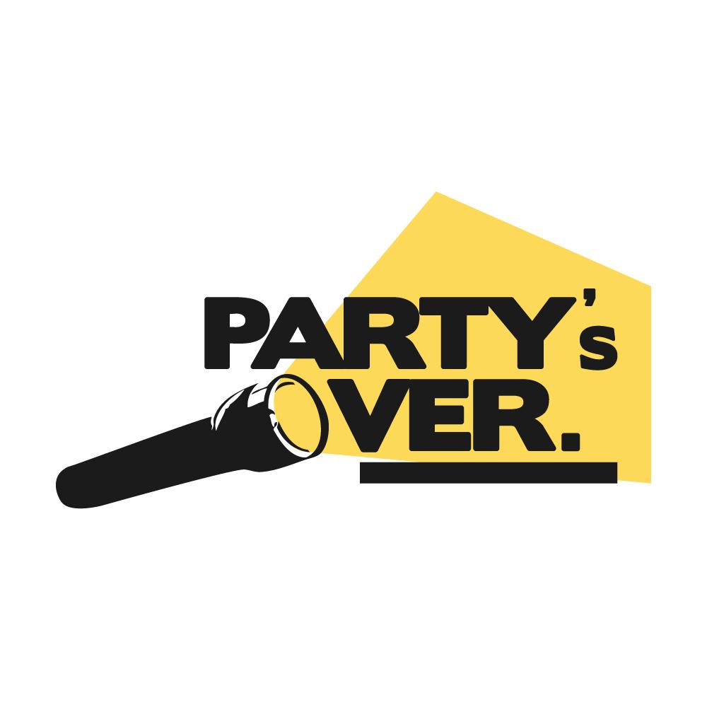 Partys over logo neu bigger