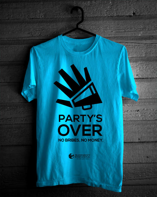 Partys over shirt mockup bigger