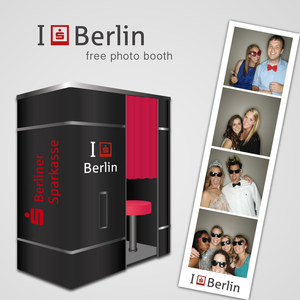 I Love Berlin (free photo booth)
