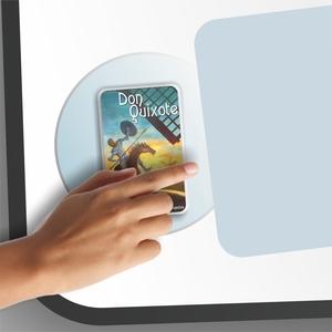 E-Book device