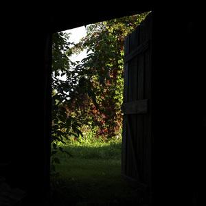 The door to garden of happiness.