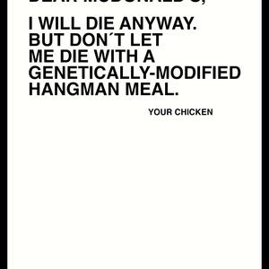 Hangman Meal