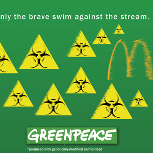 Only the brave swim against the stream