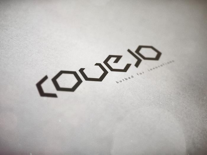 Covejo logo mockup bigger