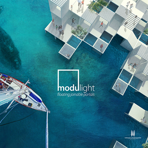 Modulight Floating joinable portals international architecture competition