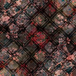 Floral Argyle